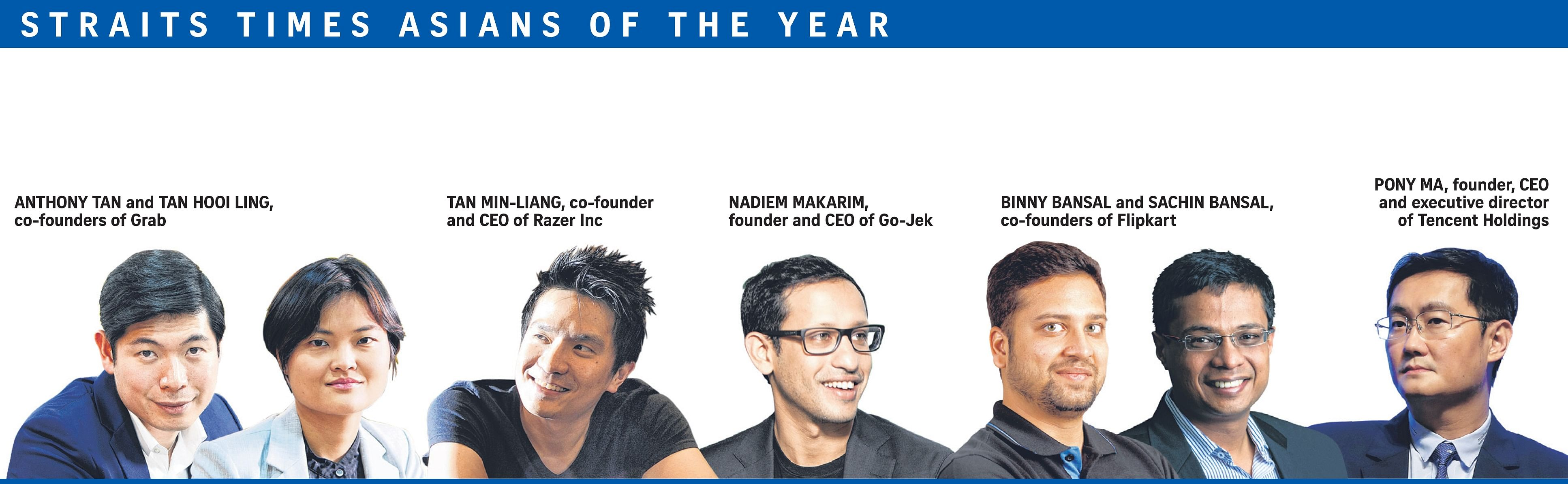 The Disruptors | The Straits Times