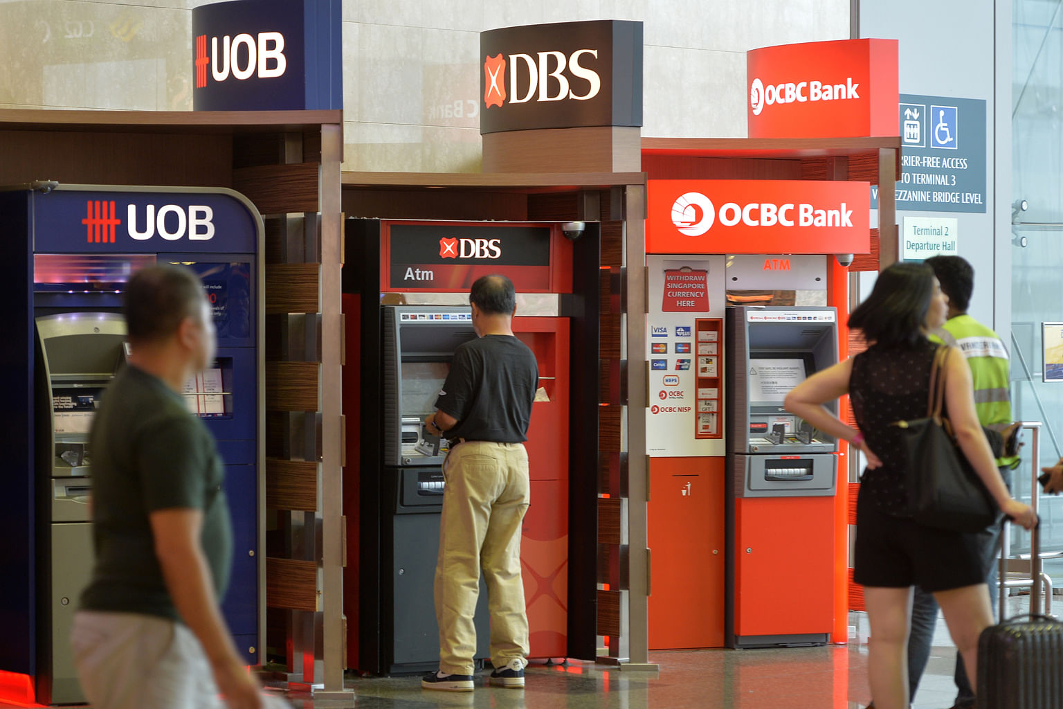 The uncertainties in the struggling oil and gas sector aside, loans growth and margin improvement will be the factors DBS, OCBC and UOB are counting on for growth this year.
