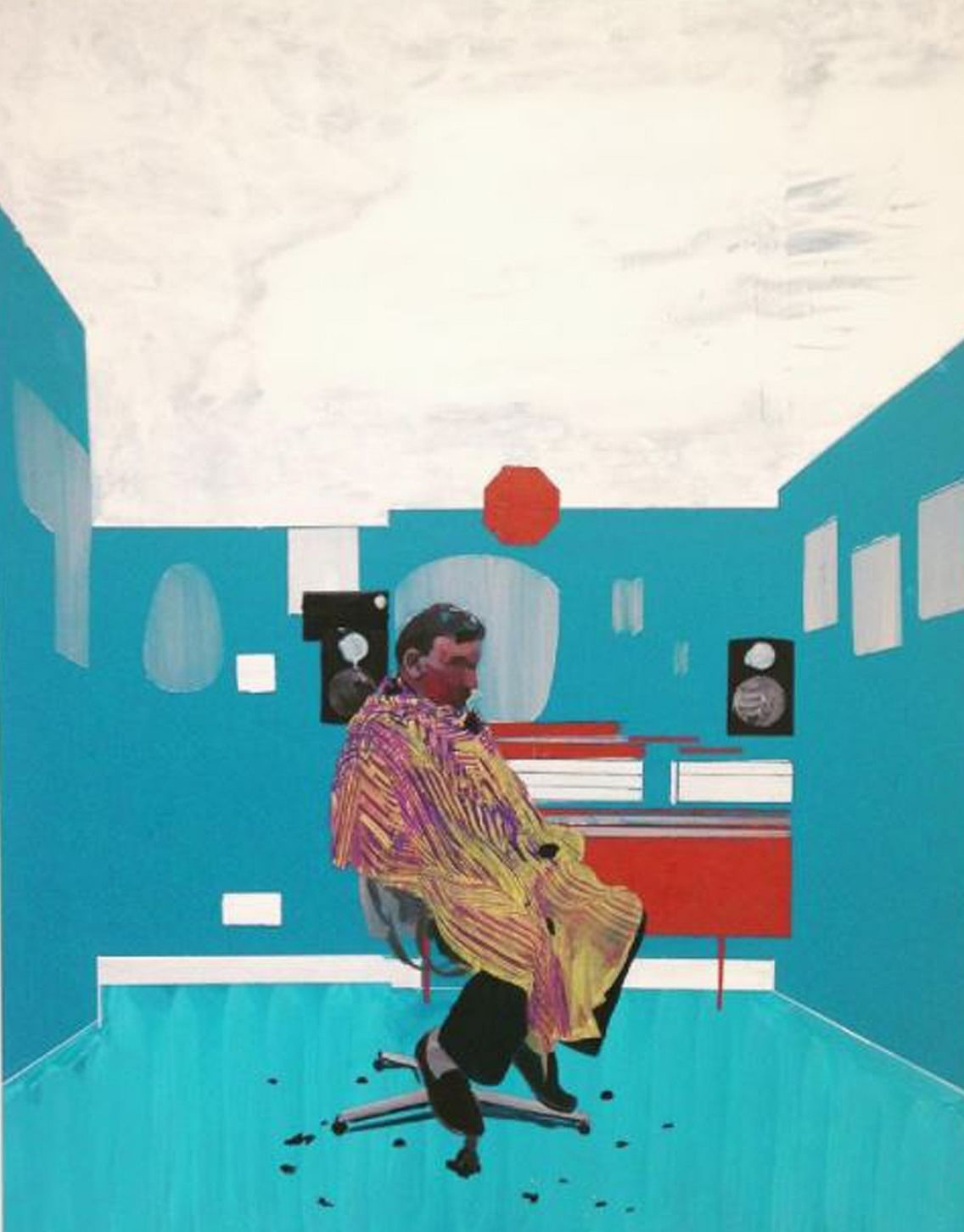 Peter's Sitter's III by Hurvin Anderson, 52, one of the four nominees for the Turner Prize.