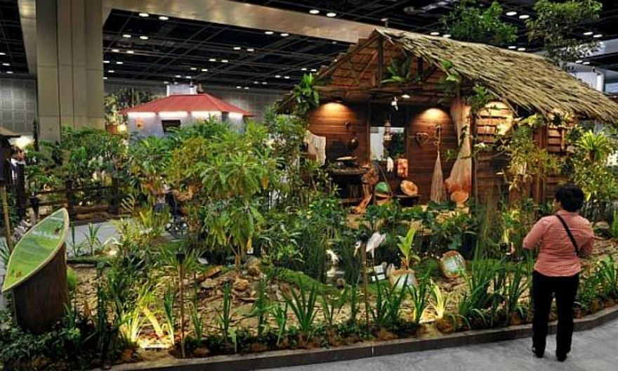 The House by the Mangroves took home the Gardeners' Cup at the fourth Singapore Garden Festival. -- ST FILE PHOTO:NG SOR LUAN