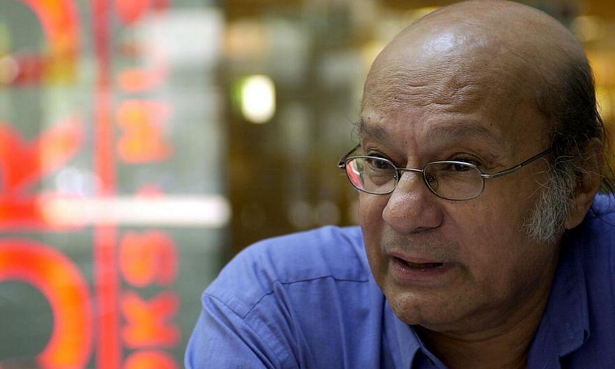 Prominent Singapore writer and neurosurgeon Gopal Baratham. -- PHOTO: ST FILE