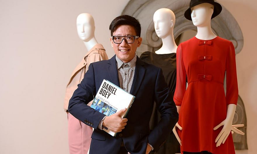 Daniel Boey's new autobiography is called The Book Of Daniel: Adventures Of A Fashion Insider. -- ST PHOTO:DESMOND WEE