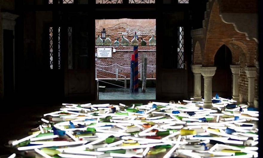 The national pavilion of New Zealand at the Venice Biennale in 2013. -- PHOTO: VENICE BIENNALE