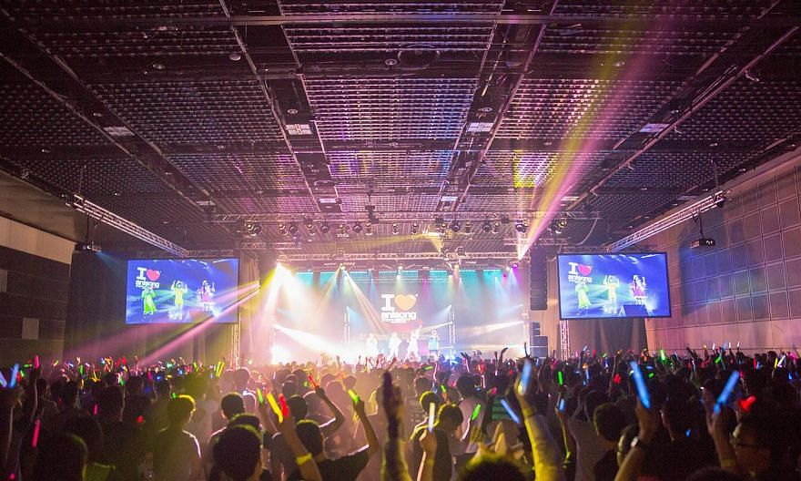 Anime Festival Asia 2014 will feature the I Love Anisong Concert of Japanese artists (above), and also cosplay guest stars such as Kaname from Japan. -- PHOTO: ANIME FESTIVAL ASIA 2014/SOZO