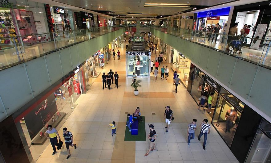 The National Environment Agency (NEA) will take action against a fifth food outlet at Marina Square mall, after rodent droppings were found on its premises in an inspection in the last week. -- PHOTO: ST FILE