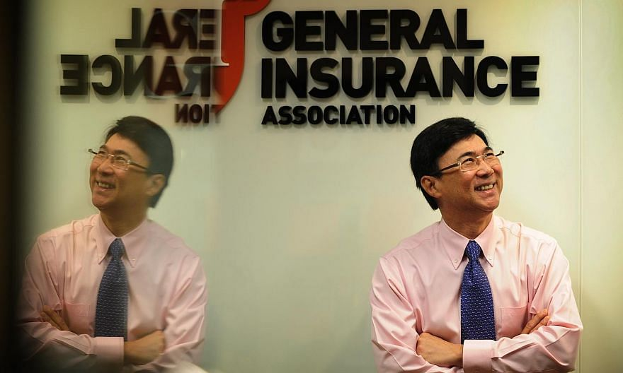 Mr Derek Teo,executive director of the General Insurance Association (GIA). -- PHOTO: ST FILE