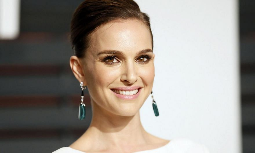 Israeli-born actress Natalie Portman (above) says she feels nervous as a Jew living in France, where she moved last year, two months before the Charlie Hebdo attacks. -- PHOTO: REUTERS