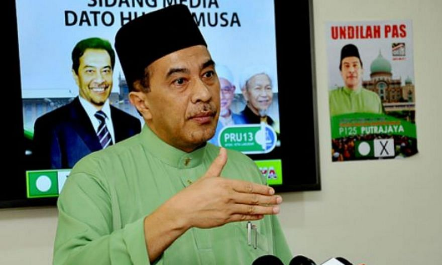 Malaysia's opposition Parti Islam SeMalaysia's (PAS) vice-president Husam Musa will defend his vice-presidency in the upcoming PAS polls next month, ending speculation that he would put up a bid for the president's post. -- PHOTO: THE STAR/ASIA NEWS