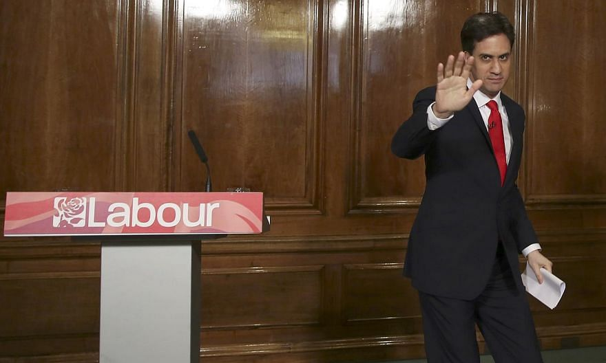 """Earlier in his Labour leadership, Mr Ed Miliband fought on a platform of social justice and fairness, using the language of """"one nation"""". In the election campaign, he seemed intent on pitting one half of the nation against the other."""