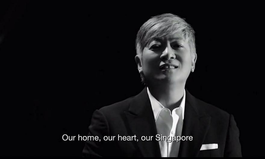 The music video for this year's National Day theme song has been unveiled. Defence Minister Ng Eng Hen shared the video on his Facebook on Wednesday. -- PHOTO: SCREEN GRAB FROM OUR SINGAPORE NDP 2015 MUSIC VIDEO
