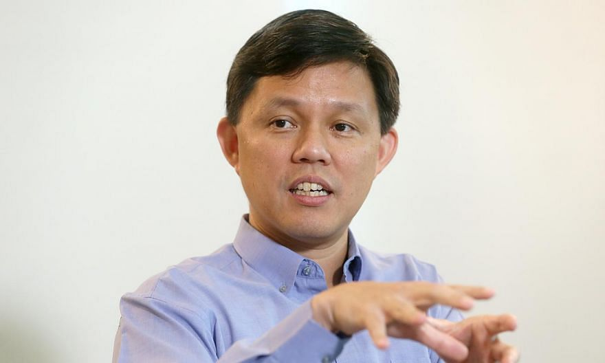 Labour chief Chan Chun Sing has given the thumbs up to the recommendations made by National Wages Council (NWC). -- PHOTO: ST FILE