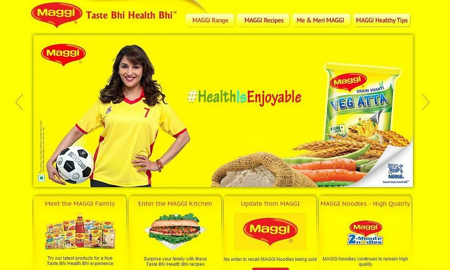Food Safety and Drug Administration authorities in northern India's Uttar Pradesh have filed a criminal case against Nestle India after finding dangerous levels of lead in a batch of Maggi noodles, an official said on Sunday, May 31, 2015. -- SCREENG