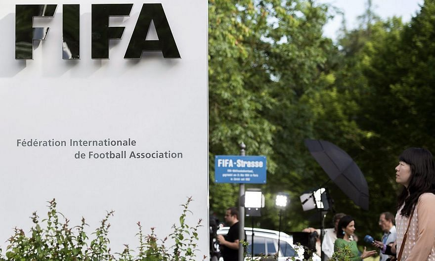 Fifa's headquarters in Zurich, Switzerland. Fifa paid Ireland's FA US$5 million (S$6.7 million) to avoid a legal case over a controversial World Cup playoff defeat in 2009, the football governing body confirmed on Thursday. -- PHOTO: EPA