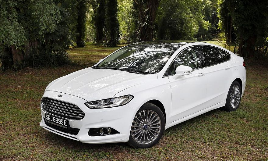 The Ford Mondeo Five-Door's build quality is on a par with those of German premium makes such as the Audi A5 Sportback.