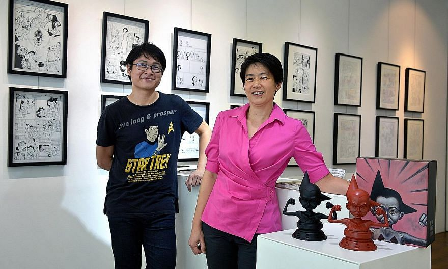 The second run of The Art Of Charlie Chan Hock Chye (left) by Sonny Liew (above) sold out within a week.