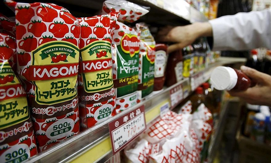 One Japanese retailer says household income is not rising much even as food prices continue to rise, so consumers prefer to buy goods on discounts.