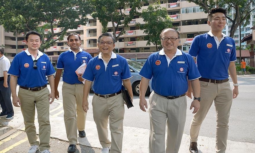The SingFirst team contesting Tanjong Pagar GRC includes Mr Chirag Desai and Mr Tan Jee Say. Mr Tan said that he will be campaigning on national issues, especially on immigration.
