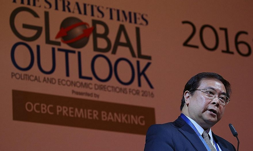 Speaking at the ST Global Outlook Forum, OCBC group chief executive Samuel Tsien said China is still expanding, just at a slower pace. More jobs have been created over the past five years than in any of the previous five-year periods. As the economy