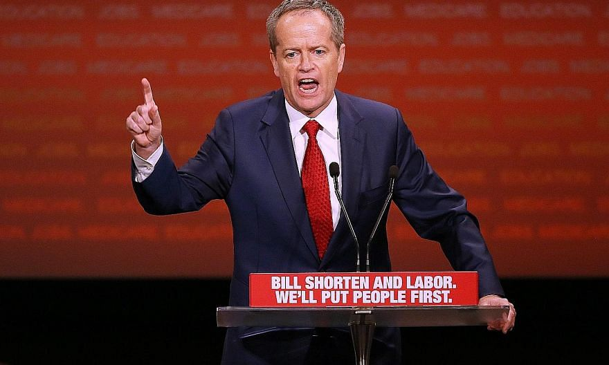 """Described as a """"shapeshifter"""" by The Age newspaper, Mr Shorten has a history of switching beliefs and allegiances, yet voters appear to have forgiven him. If opinion polls prove correct, Labor could lose the coming election, but significantly reduce"""