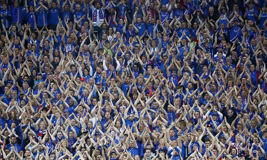 Apart from their disciplined style of play and odds-defying run to the quarter-finals, Iceland will also be remembered for introducing their thunderclap cheer to a global audience.