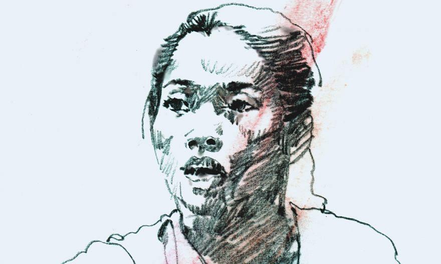 A portrait illustration of Thai shuttler, Ratchanok Intanon.