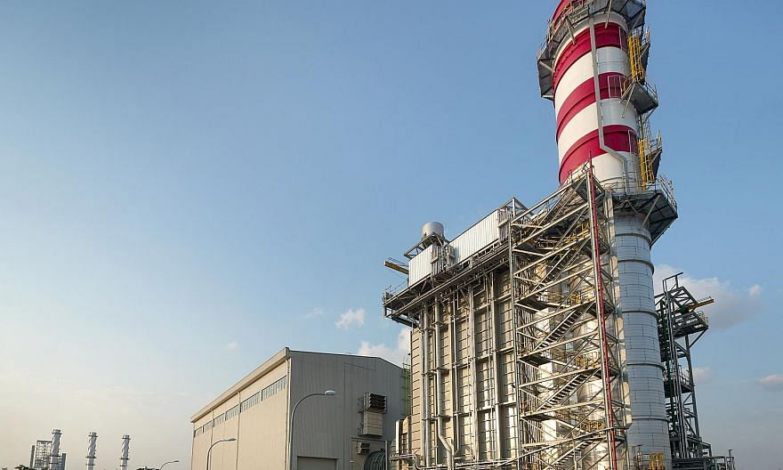 A Sembcorp Industries power plant in Singapore. The company has placed bets on its overseas forays as overcapacity in the Singapore power market has led to declining profits.