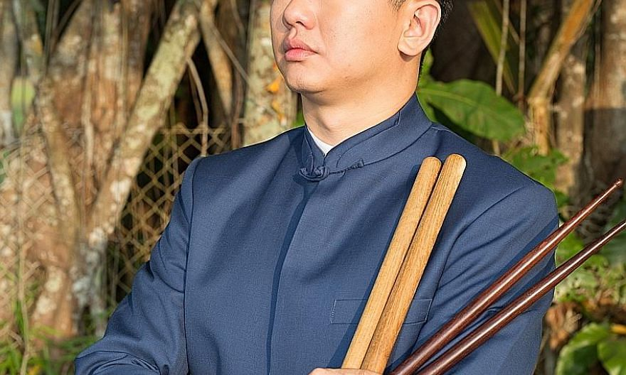 A percussionist requires nerves of steel, says Eugene Toh.