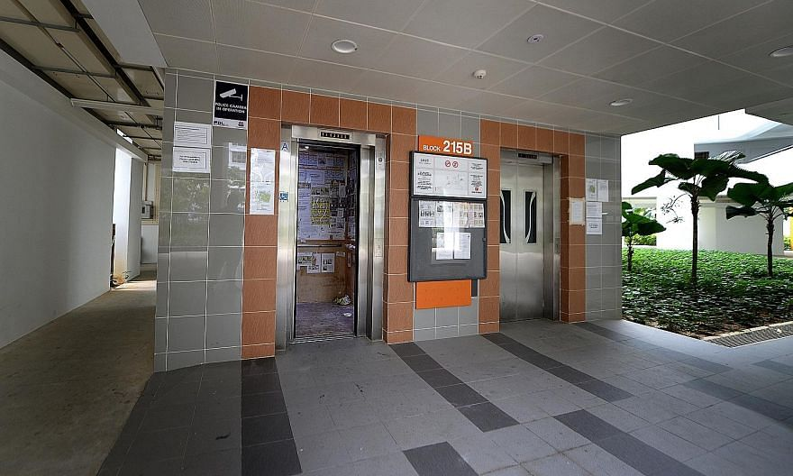 Residents in Compassvale Mast in Sengkang (left) and MacPherson Residency, which saw regular lift breakdowns over the past year, say the situation has improved. But new cases of malfunctioning Sigma lifts have emerged in HDB estates in Bukit Batok an
