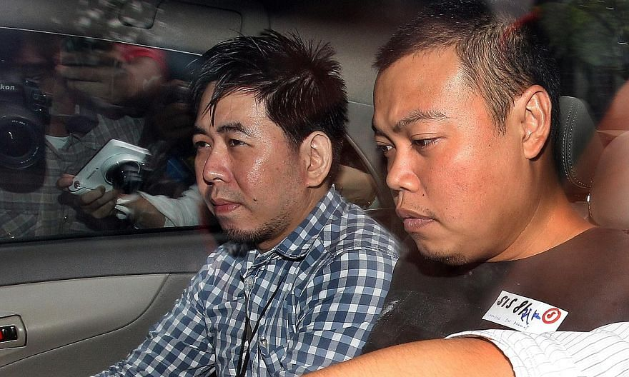 Iskandar was found guilty of murdering a father and son during a botched robbery on July 10, 2013, at the older man's Hillside Drive house in Kovan.