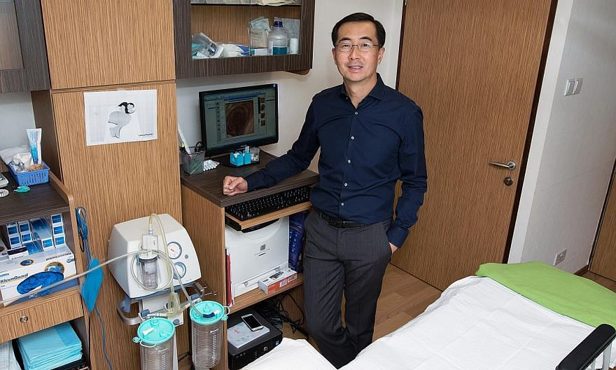"""Dr Heah Sieu Min says he challenges his staff to provide service standards that exceed most patients' expectations. """"It may sound difficult, but difficult is not impossible,"""" he notes."""