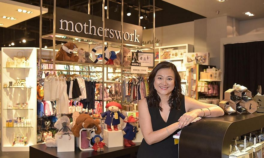 Ms Sharon Wong, founder of retailer Motherswork which specialises in products for mothers and children, has transformed the business from a traditional bricks-and-mortar company into a successful business in China by venturing online to increase its
