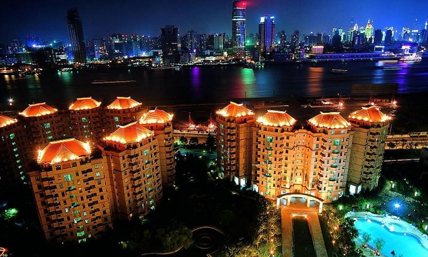 The group's earnings were helped by a robust property market in China, where its portfolio includes Yanlord Garden (left) in Shanghai. Moody's says Yanlord's strong profit margin and liquidity support its Ba2 credit rating and stable outlook. Macquar