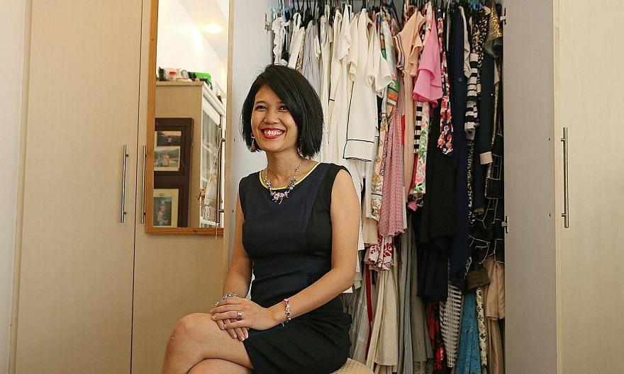 Ms Adriana Lim Escano finds it hard to resist designer pieces that are on sale.