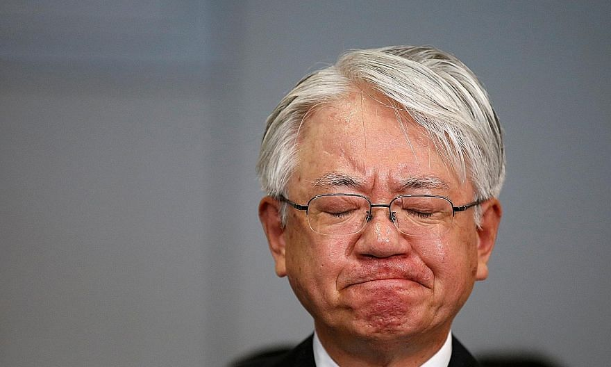 A contrite Mr Hiroya Kawasaki, CEO of Kobe Steel, has said the company plans to pay customers' costs for any affected products.