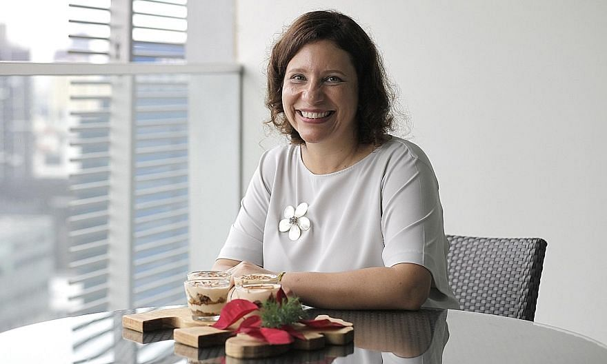 Ms Tania Nicaise has been making tiramisu since she was in her 20s, when she worked at an Italian restaurant in Brussels.