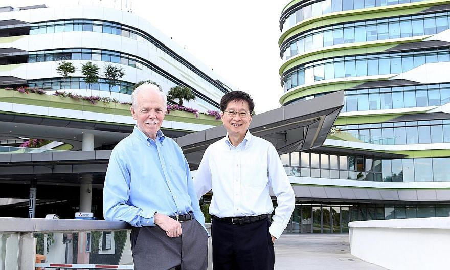 """Singapore University of Technology and Design president Thomas Magnanti is stepping down on Dec 31 after an eight-year term, and provost Chong Tow Chong will be the acting president. Professor Chong says SUTD's next phase will be """"big and bold"""", in v"""