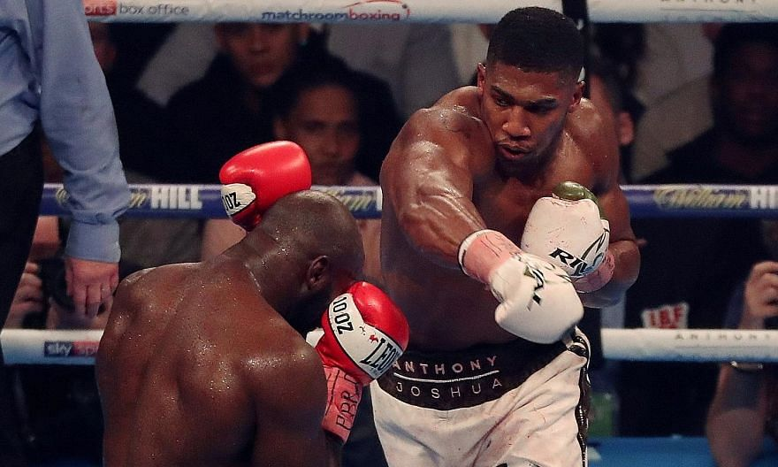 Anthony Joshua holds three of the five heavyweight titles and is poised to fight WBO champion Joseph Parker at the end of March in Britain.
