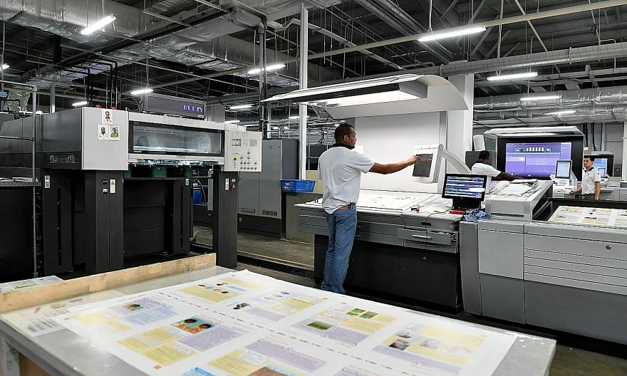 Markono bought new highly automated offset printing presses. That cut the number of machines by 30 per cent and reduced the amount of staff required to operate them while reaping the bonus of an additional 5 per cent increase in output.