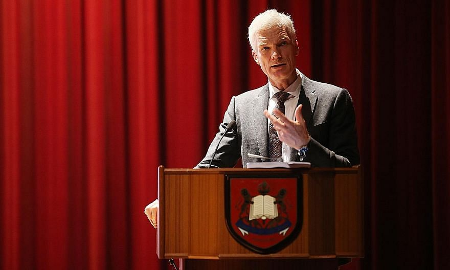 Mr Andreas Schleicher at the release of the results of the Programme for International Student Assessment last year.