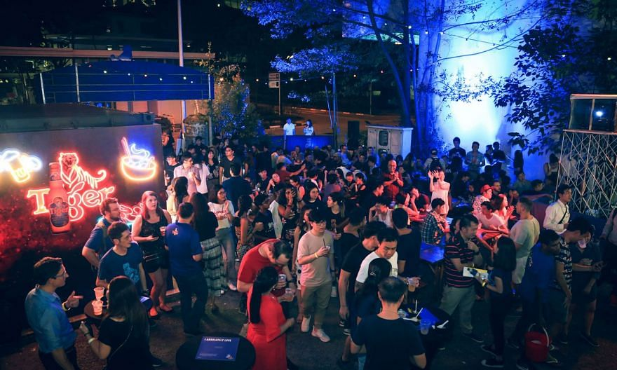 A preview of the Tiger Street Food Festival at The Deck.