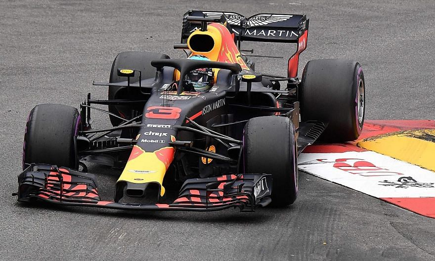 Daniel Ricciardo, seen on his way to winning the Monaco Grand Prix last Sunday, is likely to base his decision on extending his Red Bull contract on which engine they pick.