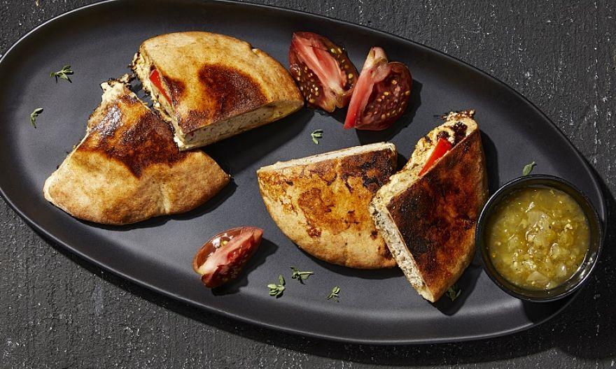 Cheesy French Toast Pitas