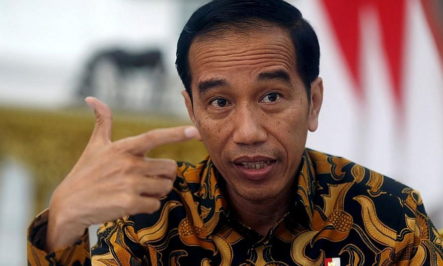 Indonesian President Joko Widodo met executives from about 40 exporters on Thursday, according to media reports.