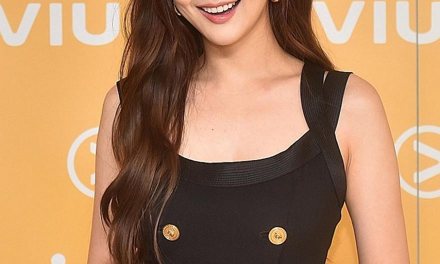 South Korean actress Park Min-young, who was in Singapore for a Samsung x Viu event, says everyone was joking and having a good time on the set of What's Wrong With Secretary Kim?.