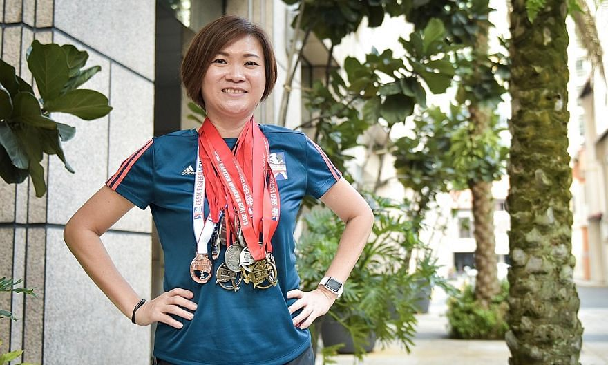 Irene Yap is looking forward to running in the half-marathon of her 13th Great Eastern Women's Run. The 51-year-old will be one of the insurer's 900 staff and representatives involved.