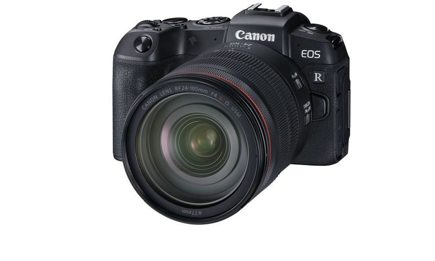 Canon's second full-frame mirrorless camera, the EOS R, is much more affordable than last year's EOS R. PHOTO: CANON