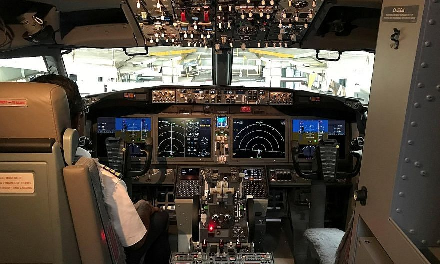 The cockpit of a Boeing 737 Max 8. Over the years, advancements in automation and technology have made planes smarter and safer, with backups for everything. The problem is when an over-reliance on these systems makes pilots less confident of their o