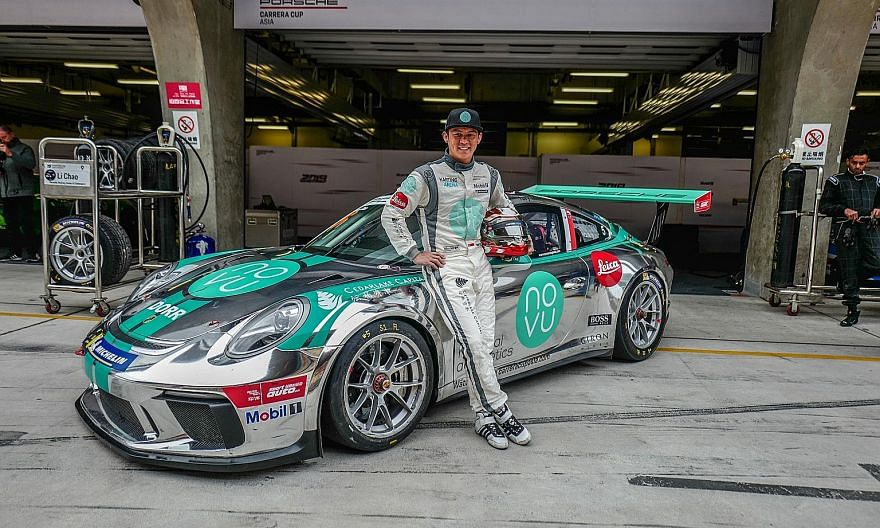 Singaporean Yuey Tan is eyeing a win in the opening race of the Porsche Carrera Cup Asia season in Shanghai this weekend.
