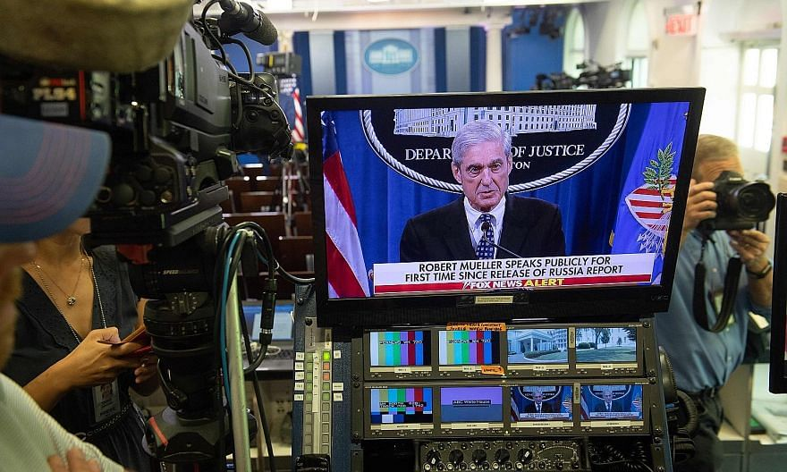Special counsel Robert Mueller had previously said in his report, which was released in April, that he could not conclude whether US President Donald Trump's 2016 campaign conspired with Russia and also could not exonerate him over attempts to obstru