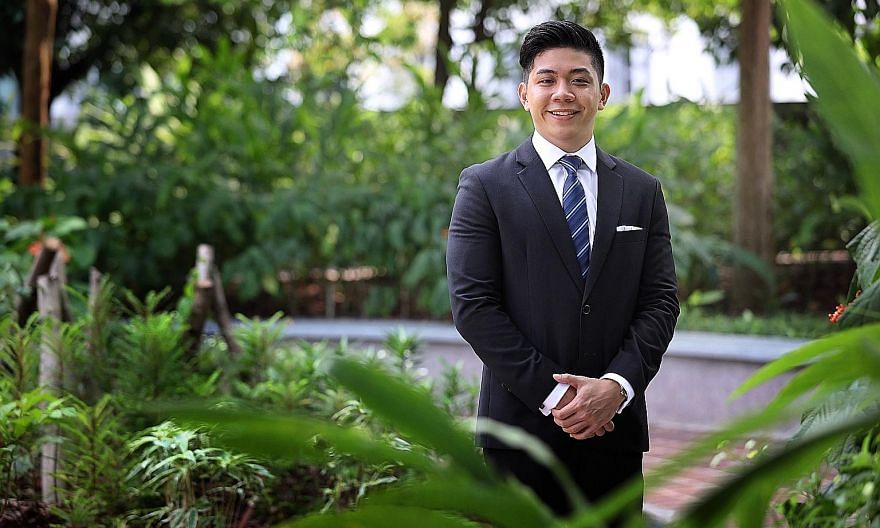 Mr Aaron Yoong says he learnt the most outside the classroom. He has had his work published in top academic journals and taken part in international mooting competitions. He was also part of a team from Singapore Management University that prepared a